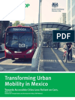 Transforming Urban Mobility in Mexico