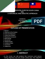 Territorial Disputes Over the South China Sea
