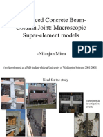 Reinforced Concrete Beam-Column Joint Macroscopic Super-Element Models