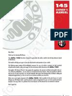 ad53a5d0750 Alfa Romeo 145 Owner s Manual