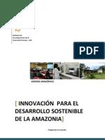 Innovacion Para El Desarrollo Sostenible de La Amazonia