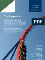 "Nordea Bank, Economic Outlook, September 2013, ""Turning Points"""