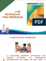 Programa de Estudio 2011 Para Preescolar