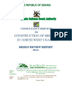 Design Review Report for Bridges in Northern Uganda