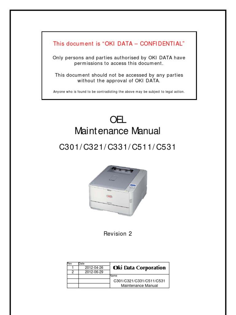 Oki printer user manual oki c531dn toner und trommel sicher und.