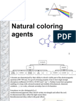 Natural coloring agents