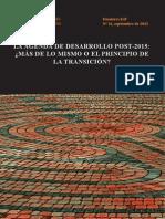 Dossieres Esf 11 Agenda Post 2015