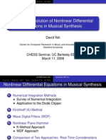 Numerical Solution of Nonlinear Differential