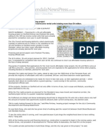 Glendale News Press Article