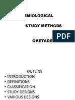 Epidemiological Study Methods