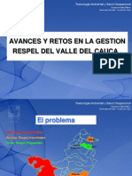 Diagnostico y Gestion de Residuos en El Depto Del Valle Ing. Alvaro Mosquera a.