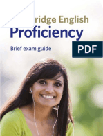 Cpe Proficiency Leaflet