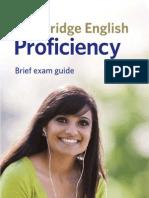 Cpe Proficiency Leaflet