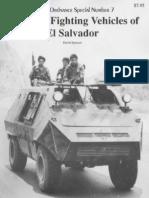 (Museum Ordnance Special No.7) Armored Fighting Vehicles of El Salvador