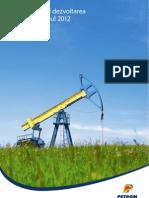 Petrom Sustainability Report 2012 RO