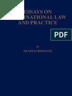 Essays on International Law