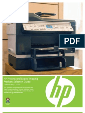 IPG Printer Selection Guide- 0507   Image Scanner   Printer