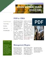 Suresh Gyan Vihar University International School of Business Management Hulchal Newsletter Issue Two
