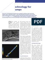 Sea Water Pump Materials
