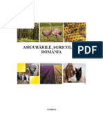 Asigurari agricole din Romania