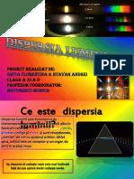 dispersia luminii