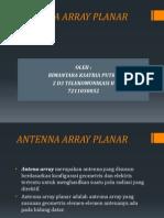 Antenna Array Planar