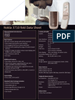 Nokia 3710 Fold Data Sheet