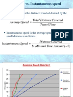 Graphing Speed Velocity and Acceleration.ppt