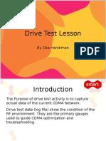 Drive Test Lesson