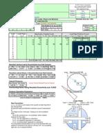 Sample-Output Round Pad 20130305m