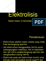 Materi Elektrolisis