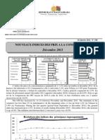 Nouveaux Indices des prix à la consommation - Décembre 2011 (INSTAT - 2011)