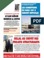 Le Jeune Independant Du 04.09.2013