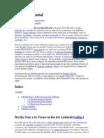 DEONTOLOGIA 4 CORTE Ética ambiental