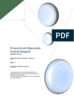 Proyecto de Educación Sexual Integral