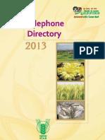 ICAR Telephone Directory(33 55)