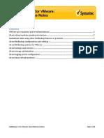 NBU - VMware Quick Ref Notes 1