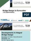 Bridge Design to Eurocodes - Integral Bridge