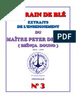 Peter Deunov Lecture 3