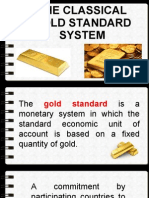 classical gold standard system