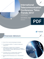 9. Eutelsat Telco Trends Conference 14 August 2013 RU