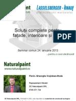 Seminar Naturalpaint-Knauf BV.ian 24 2012