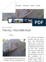 The KCL- Polymer Mud _ More Than Words!
