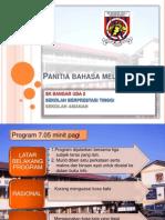 Panitia Bahasa Melayu-presentation
