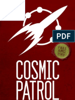 Cosmic Patrol the Eiger Agenda (Free RPG Day 2013)