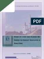 Fluidized Bed Gasifier Design Report Public)