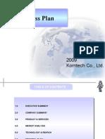 Robot Business Plan
