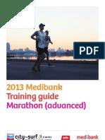 Marathon Training Guide- Advanced