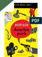 Allen, Woody - Anarhie Pura (v0
