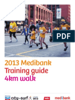 Training Guide - 4km walk